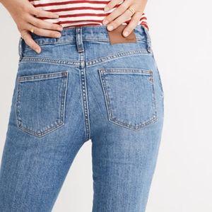 "Madewell 9"" High Rise Skinny Jeans SZ 30P Eco pant"